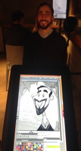 DC digital caricatures