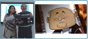 iPad drawing of Mehmet