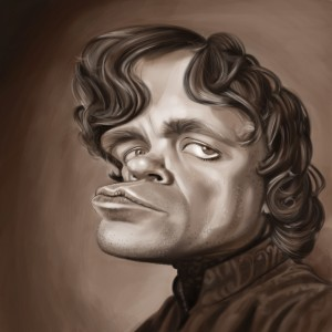 Tyrion Caricature by Angie Jordan